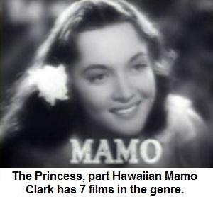 Mamo Clark Princess of the South Seas Cinema genre