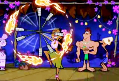 Fairlt Oddparents fire dancer