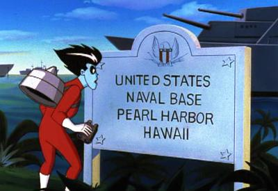 Freakazoid is History finds himself in Pearl Harbor